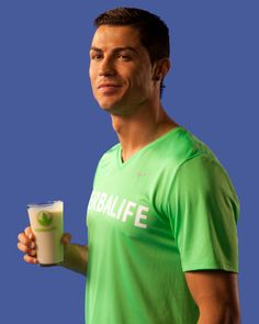 HERBALIFE IS NEW OFFICIAL NUTRITION SPONSOR OF GLOBAL FOOTBALL STAR, CRISTIANO RONALDO