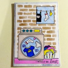 Todays card using Loads of fun, Little Bundle and Plan on it stamps from Lawn Fawn | Flickr - Photo Sharing!