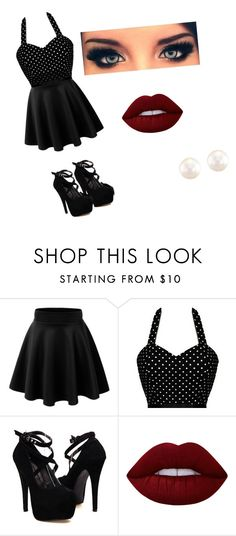 """night 2"" by maggie1314 ❤ liked on Polyvore featuring Lime Crime and Anne Sisteron"