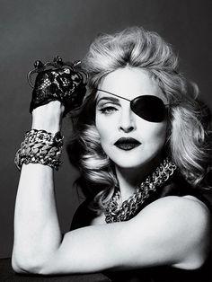 <3 The incredible Madonna.