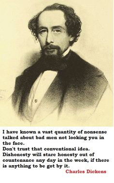 Charles Dickens -- too many nouns to express my admiration . . .