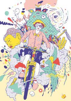 Toshihiro Mori - Digital Art   Curioos