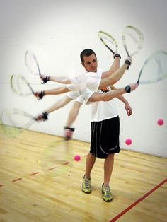 Photo Sequence-Racquetball. Find local schools and teachers on EducatorHub.com