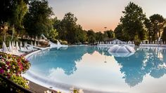 lake garda, altomincio family park, campsite, italian lakes, swimming pool