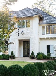 The exterior of Michael Ladisic's newest project (his own!) is clean and simple.