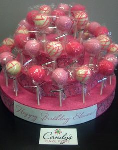 Another Cake Pop Stand Idea