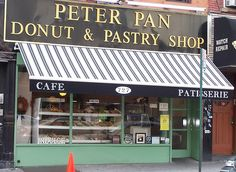 Peter Pan Donut and Pastry Shop  727 Manhattan Ave - want to visit when I go to NYC in june!