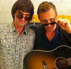 Tom Hiddleston and Pat Buchanan at the Wheatland Music Festival in 2014. Source: https://www.instagram.com/danibuchanan/