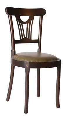 Kestane ahşap sandalye