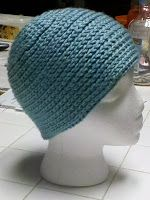 Spiral Chain stitch hat