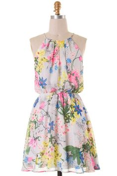 Darling English Garden Dress – Pree Brulee