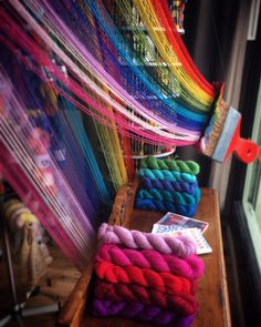 Yarns and knitting products online Yarn Shop, Merino Wool Blanket, Heaven, Window, Colour, Knitting, Spring, Tick Insect, Threading