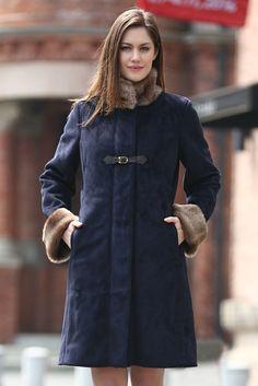 Saks Potts | Febbe Bertha shearling coat | NET-A-PORTER.COM ...