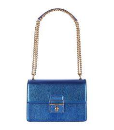 5998e24e8e6 DOLCE   GABBANA Rosalia Metallic Chain Shoulder Bag.  dolcegabbana  bags   shoulder bags