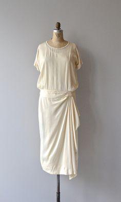 Taitbout Hochzeit Kleid 1920er Jahre Hochzeit Kleid von DearGolden