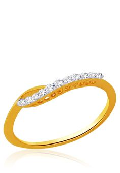 Golden 92.5 Sterling Silver Ring
