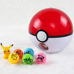 Pokeball Rocket  Ball Figures Anime Action Figures Pokect Mon Go Pikachu Toys