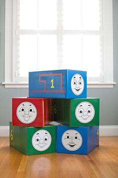 Thomas the train is toddleraprroved and so is this diy hello wonderful thomas and friends costumes 5 printable faces solutioingenieria Choice Image