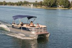 New 2013 - Crest Pontoon Boats - Caribbean 230 SL Luxury Pontoon Boats, Pontoon Boats For Sale, Pontoons, Family Adventure, Lake Life, Caribbean, Ship, Water
