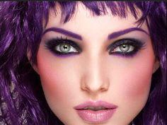 purple make over