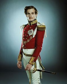 Rupert Friend as Prince Albert in Young Victoria