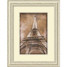 'Eiffel Tower' by Erin Clark Framed Art Print