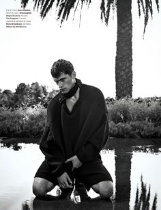 """before you kill us all: EDITORIAL Numéro Homme Spring/Summer 2015 """"Eaux Claires"""" Feat. Sean O'Pry by Nathaniel Goldberg"""