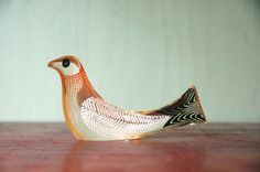 Mid Century Modern Abraham Palatnik Lucite Bird by JunkHouse