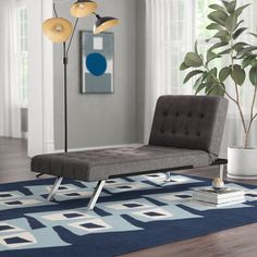 Lounge with your latest read or take an afternoon cat nap (we won't judge!) in this attractive chaise. Exuding modern style, this design is founded at Tufted Chaise Lounge, Lounge Chairs, Sleeper Sofa, Upholstery, Living Room, Logan, Home Decor, Master Suite, Master Bedroom