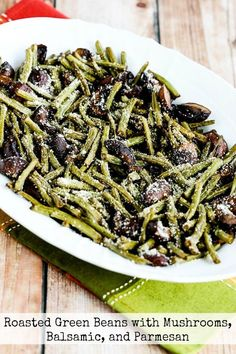 Roasting brings out amazing flavor in green beans and mushrooms, and Roasted Green Beans with Mushrooms, Balsamic, and Parmesan are delicious! These beans are low-carb, Keto, low-glycemic, gluten-free, meatless, and South Beach Diet friendly;use theDiet-Type Indexto find more recipes like this one. Click here to PIN these tasty roasted green beans with mushrooms! I never …