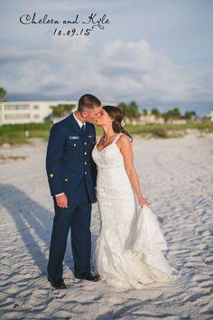 Chelsea & Kyle, Resort at Longboat Key, Navy Wedding, Beach Wedding, Sarasota Wedding Photographer, Roohi Photography