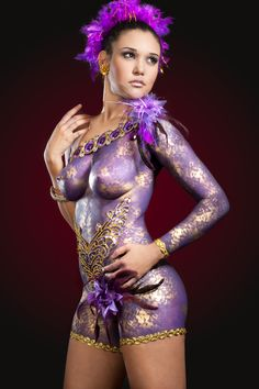 Body Paint See More : http://luxurystyle.biz/tattoo/