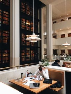 Café at the British Library, London - Studying Motivation