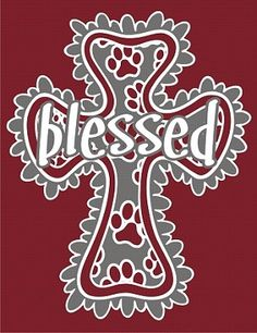 Blessed Design - Paws - MSU Bulldogs