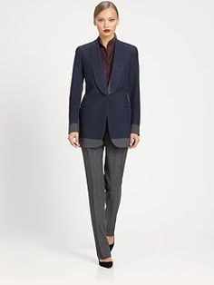 Bottega Veneta - Bi-Color Wool Jacket