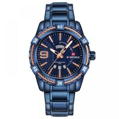 Feature: Water Resistant,Auto Date,Complete Calendar,Week Display,Luminous Hands Case Material: Stainless Steel Style: Sport Clasp Type: Buckle Band Material Type: Leather Movement: Quartz Boxes & Cases Material: Paper Dial Window Material Typ. Mens Sport Watches, Luxury Watches For Men, Tactical Watch, Men With Street Style, Waterproof Watch, Casual Watches, Fashion Watches, Men Fashion, Style Fashion