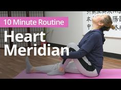 Does your chest feel stuffy? It could be related to an energetic block in the heart that needs opening. Try this 10 minute routine to open the heart meridian. Meridian Points, Chi Energy, Qigong, Self Healing, Chinese Medicine, Heart Health, Holistic Healing, Exercises, Yoga