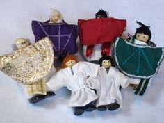 wooden doll house dolls dressed as clergy Wooden Dollhouse, Christian Faith, Prayer, Spaces, Dolls, Children, Eid Prayer, Baby Dolls, Young Children