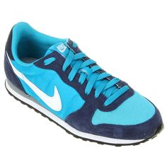 Tênis Nike Genicco Azul Claro e Marinho | Netshoes