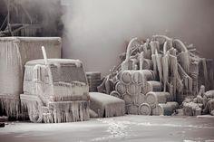 氷の芸術作品ができた理由 | ナショナルジオグラフィック日本版サイト