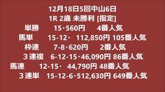 ・12月18日5回中山6日高額払い戻し競馬01