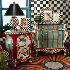 Mackenzie Childs, art furniture .
