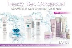 JAFRA Cosmetics – Win a collection of Summer Skin Care Essentials!