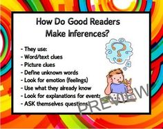 how to teach inferential comprehension skills