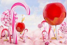 5x7ft Kate Atrezzo Fotografia Infantil Nouveau-Né Décors pour Photo Studio Fée Conte Les Forêts Rose Milieux pour Bébé Photocall