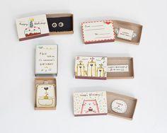 Choisissez nimporte quelle boîte dallumettes-5 cartes / | Etsy