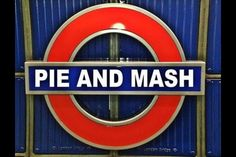 Love this my favourite Pie and Mash. London History, British History, Pie And Mash, Best Of British, British Accent, Knee Up, National Treasure, East London, Chicago Cubs Logo