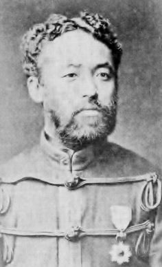 乃木希典(1849~1912)評価が二分する日露戦争司令官。明治10年頃、30歳代前半の肖像。石黒敬章著「幕末明治の肖像写真」より