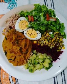 Menu Dieta, Cooking Recipes, Healthy Recipes, Healthy Food, Cobb Salad, Good Food, Low Carb, Lunch, Food And Drink