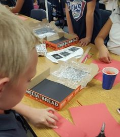 Survival Week - Solar Ovens - One of five culminating projects for the conclusion of The Cay.